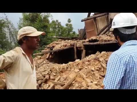 Engineers and Architects in earthquake affected rural areas of Nepal.