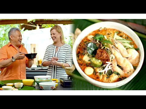 Nyonya Laksa Recipe, made by Chef Wan!