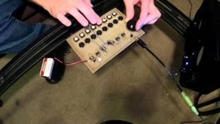 Simplest DIY / Homemade Moog / ARP / KORG Filter Sound Analog Synthesizer EVER