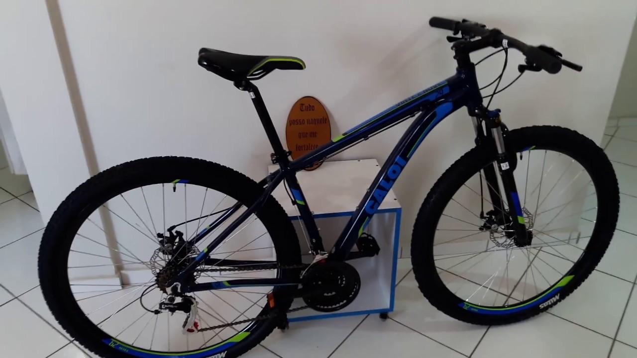 28474ba3a Bicicleta Caloi 29 2018 - Informações Técnicas - YouTube
