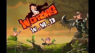 Весёлая серия игры Worms Танки за воспоминания, прохождение червяков WMD