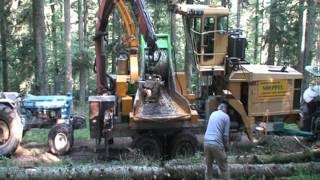 Broyage en forêt
