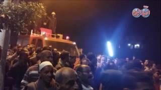 أخبار اليوم | جنازة الشهيد ملازم أول محمد نجيب الحارثى بقرية طحلة  بالقليوبية