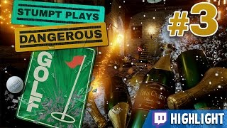 Dangerous Golf - #3 - Gong Show [Twitch Highlight]