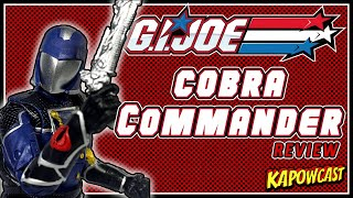 G.I. JOE CLASSIFIED COBRA COMMANDER REVIEW