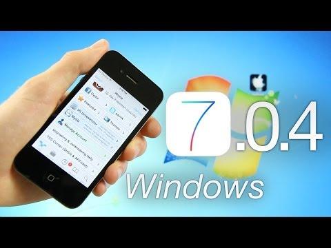 OFFICIAL Jailbreak 7.0.4 iOS Tethered iPhone 4,RageBreak Windows & Cydia