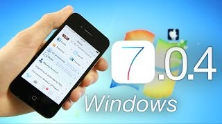 OFFICIAL Jailbreak 7.0.4 iOS Tethered iPhone 4,RageBreak Windows & Cydia