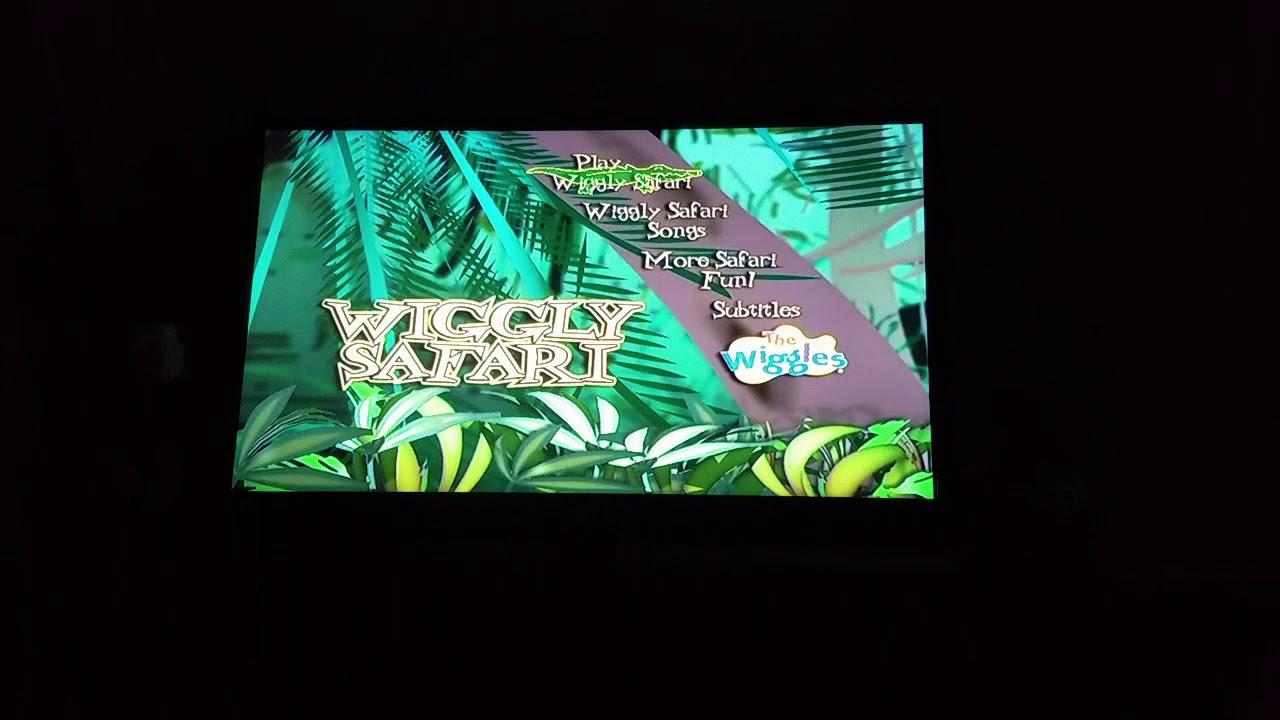 The Wiggles Wiggly Safari DVD Menu Walkthrough