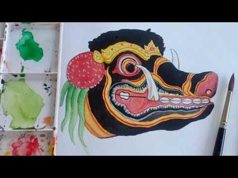 Barong Bangkung Art