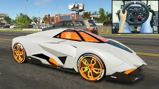 Lamborghini Egoista - The Crew 2   Logitech g29 gameplay