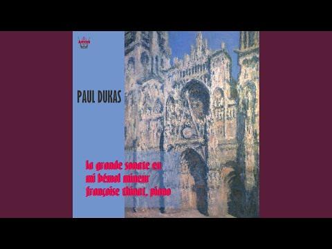 Sonate pour piano in E-Flat Minor: IV. Final. Très lent