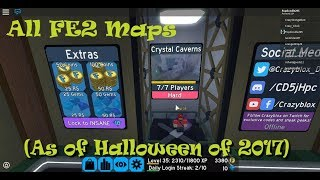 All Flood Escape 2 Maps As of Halloween of 2017 - Roblox