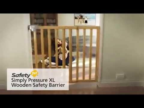 safety 1st simply pressure xl t rschutzgitter holz zum. Black Bedroom Furniture Sets. Home Design Ideas