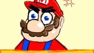 Mario triggered HS:P2