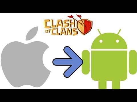 Hướng dẫn link tài khoản Clash of Clans từ iOS qua Android