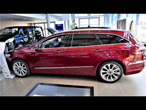 2018 2017 Ford Fusion WAGON Mondeo Vignale 2.0 Twin Turbo Review Presentation 4K