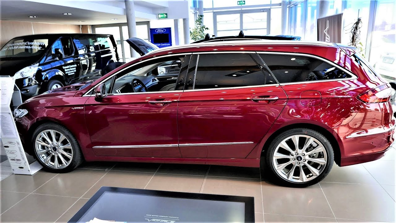 2018 2017 Ford Fusion WAGON Mondeo Vignale 2.0 Twin Turbo Review Presentation 4K - YouTube