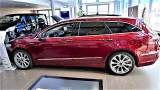 2018 2017 Ford Fusion WAGON Mondeo Vignale 2.0 Twin Turbo Review Presentation 4K