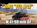 "WOT: M 41 90 mm GF, what a game, pro carry ""try"", WORLD OF TANKS"
