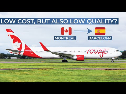 TRIPREPORT | Air Canada Rouge (ECONOMY) | Montreal - Barcelona | Boeing 767-300ER