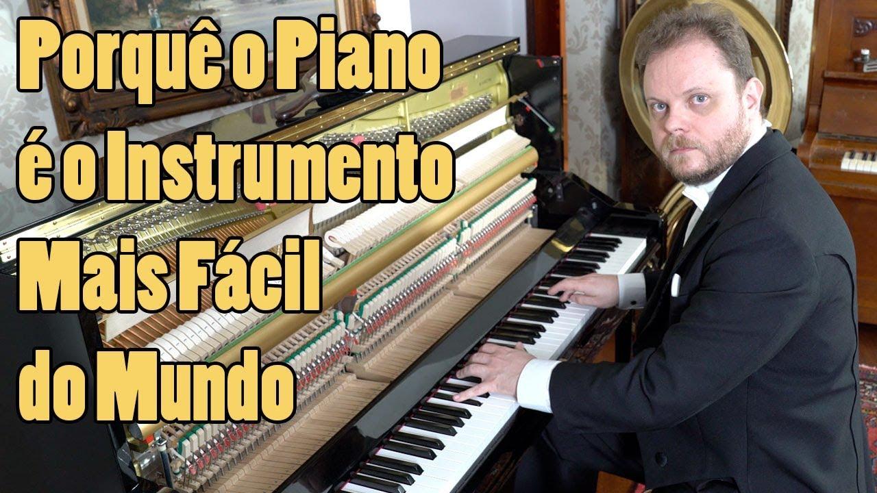 Porquê o Piano é o Instrumento MAIS FÁCIL do Mundo