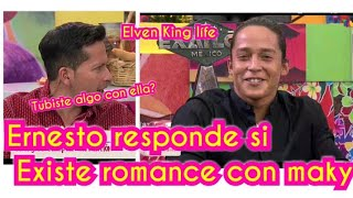 Ernesto Cazáres aclara ROMANCE con maky durante el Exatlón México y quien es su novia? AZTECA MERCAD