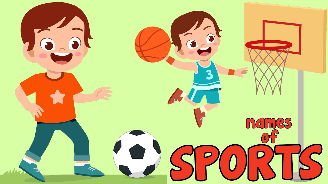Names of Sports for Kids in English
