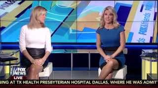 Ainsley Earhardt & Heather Childers 10-09-14