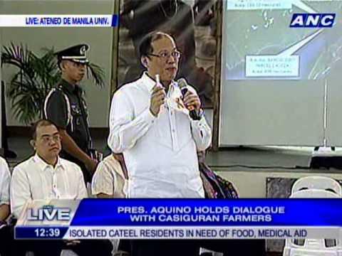 Casiguran IP's, farmers, fishermen accuse APECO of land grabbing and human rights violations