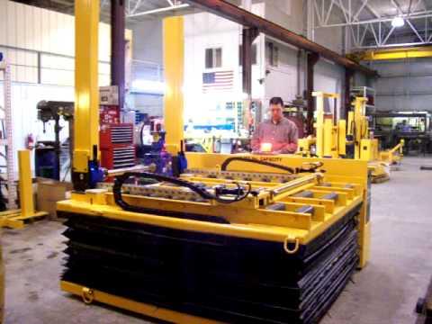 Titan Mold Cart 2428: - 10,000 lb. Capacity Mold Change Cart