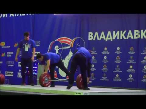 2016 Russian National Weightlifting  77 kg Snatch
