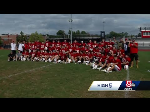 High 5: Hingham High School football team