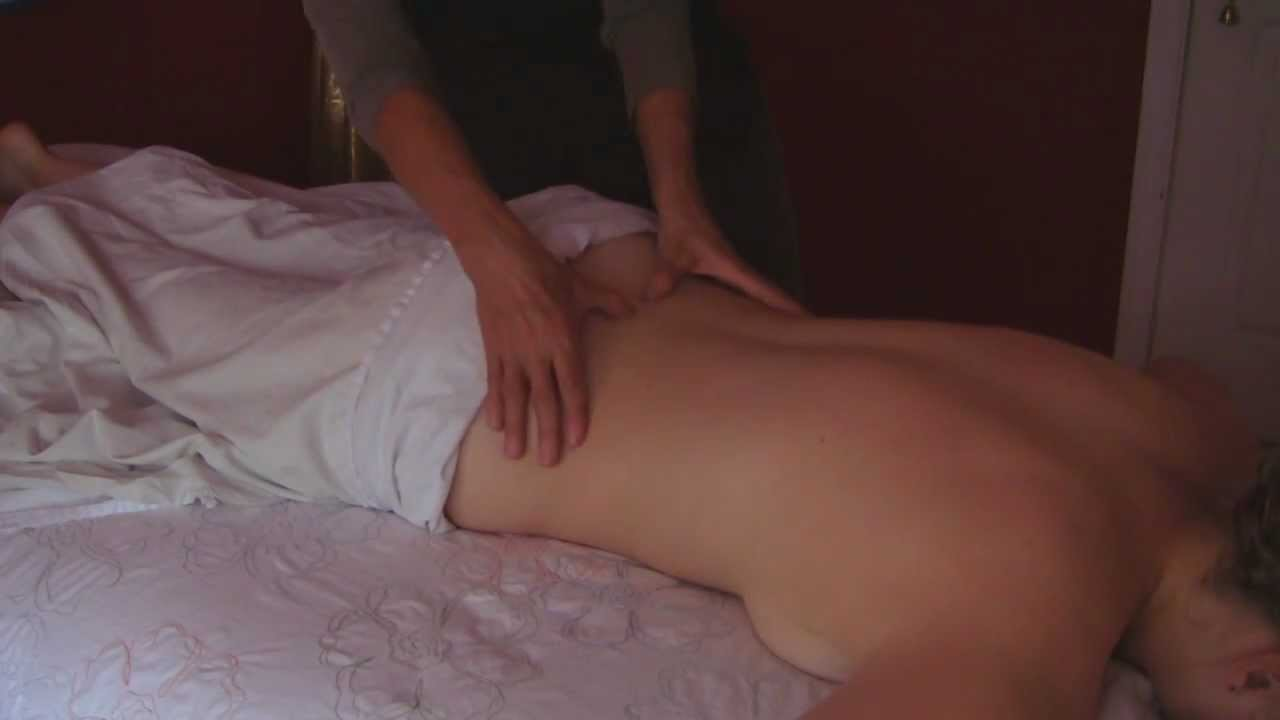 Teen Rubbing His Body