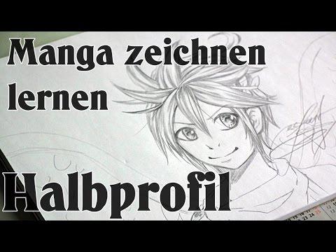 Manga Zeichnen Lernen Basic Halbprofil Youtube