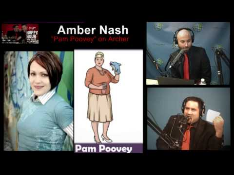 "Amber Nash ""Pam Poovey"" from Archer visits Happy Hour"
