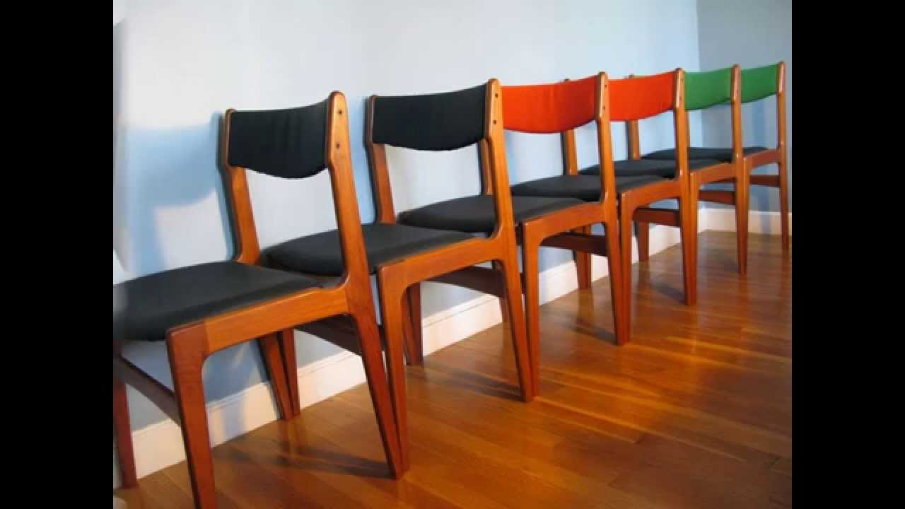 Teak Dining Room Chairs Found Midcentury Modern Danish Teak Dining Chairs