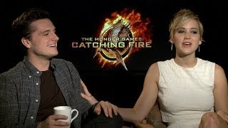 Jennifer Lawrence and Josh Hutcherson talk to TODAY about The Hunger Games: Catching Fire