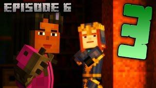 MINECRAFT: Story Mode Эпизод 6 прохождение - РАССЛЕДОВАНИЕ #3