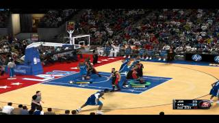 NBA 2K11 - PC Gameplay 9600GT Max settings