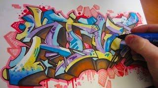 Mystic Graffiti Black Book Piece