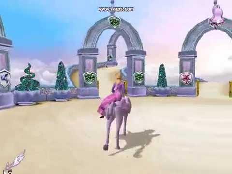 Игра Барби и волшебство Пегаса. 1 часть
