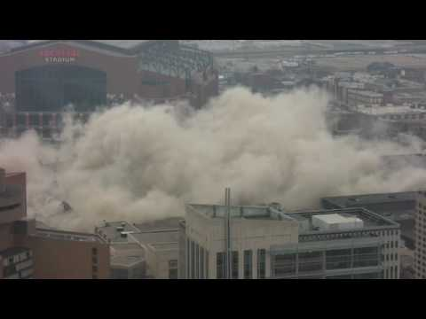 RCA Dome Implosion  BEST VIEW  HIGH QUALITY