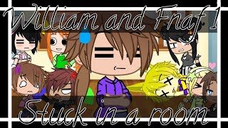 William and Fnaf 1 stuck in a room for 24 hours || Afton Family Series Episode 10 || Gacha Club