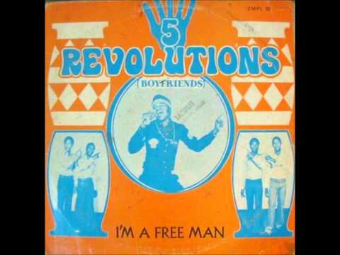 5 REVOLUTIONS (BOYFRIENDS) - I'M A FREE MAN