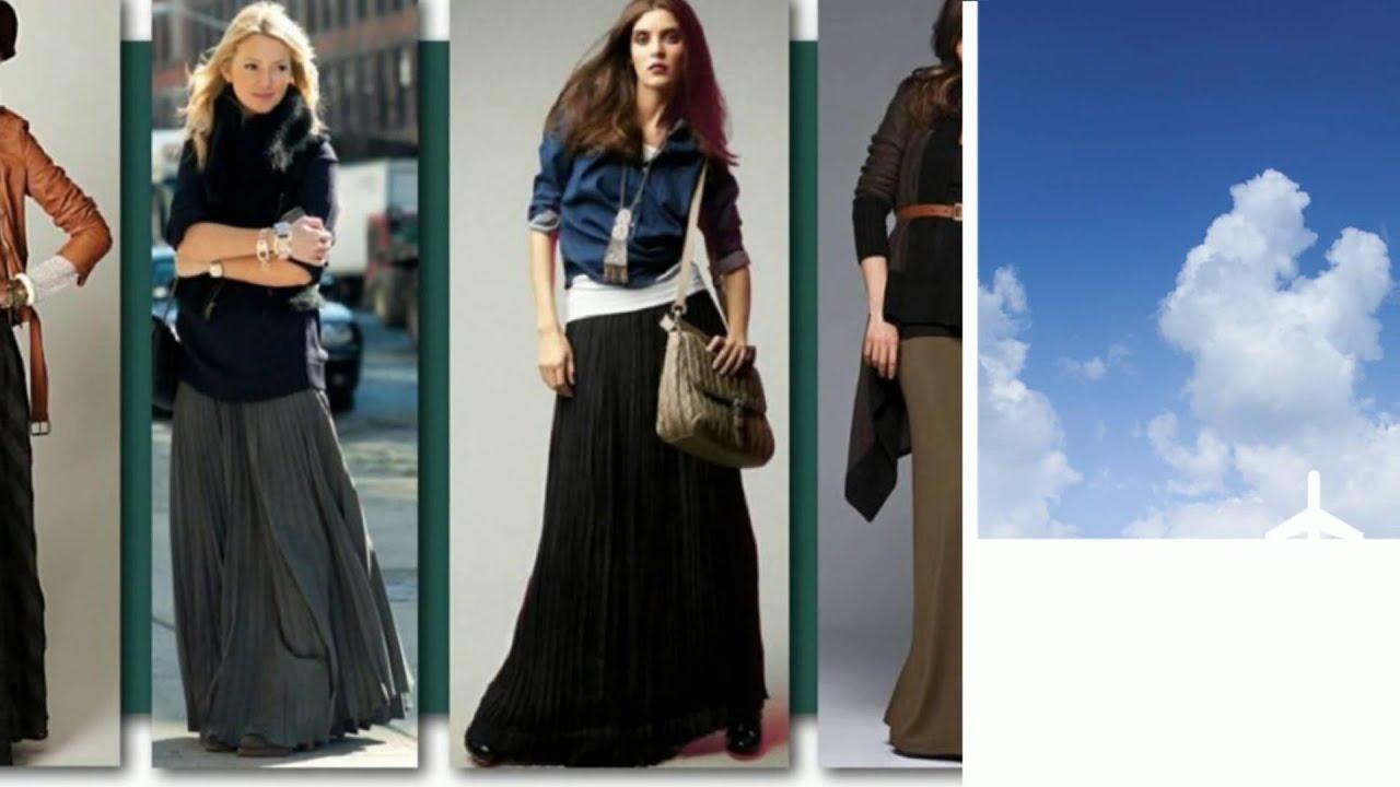 С чем носить юбку карандаш | Pencil Skirt Outfits - YouTube