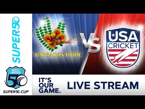 Super50 Cup - Full Match | Barbados v USA | Tuesday 16 October 2018