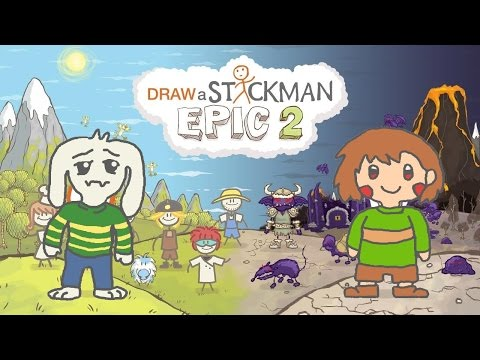 UNDERTALE Draw a Stickman Epic 2 Gameplay - Best Friend Forever End Game