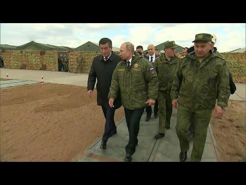 В Оренбургской области В.Путин лично наблюдал за кульминацией масштабных учений «Центр — 2019».