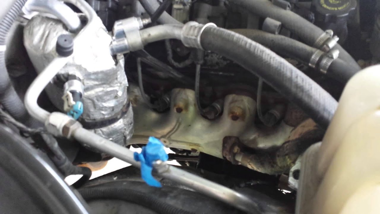 Talk Through Ac Compressor Job 2000 Z71 Youtube