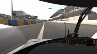 Onboard Lap: Audi R18 at Le Mans [rFactor]